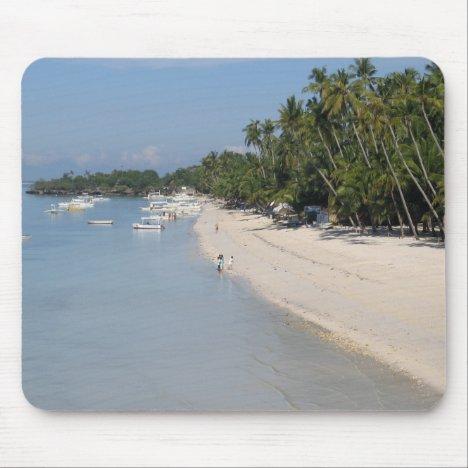 Alona Beach, Panglao Island, Bohol, Philippines Mouse Pad