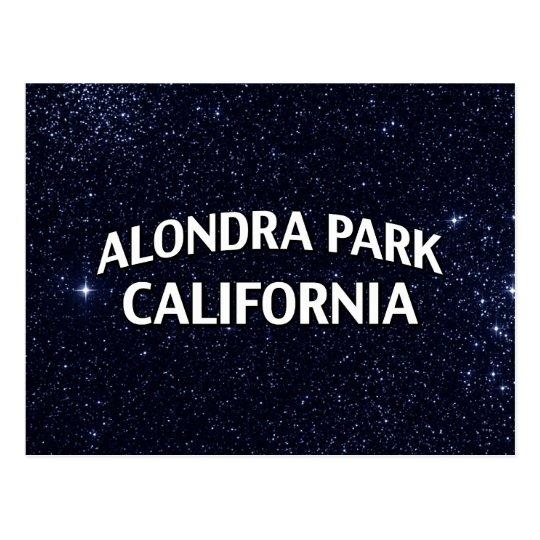 Alondra Park California Postcard