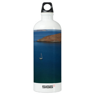 Alone at Anchor Water Bottle