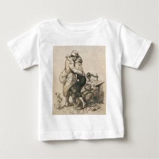 Alone at Last Enfin Seuls World War I Drawing Baby T-Shirt