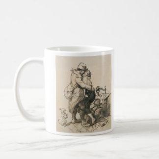 Alone at Last Enfin Seuls World War I Drawing Coffee Mug