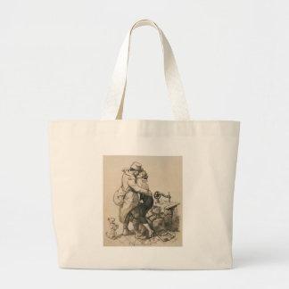 Alone at Last Enfin Seuls World War I Drawing Large Tote Bag