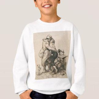Alone at Last Enfin Seuls World War I Drawing Sweatshirt