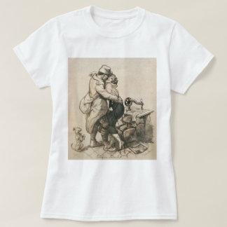 Alone at Last Enfin Seuls World War I Drawing T-Shirt