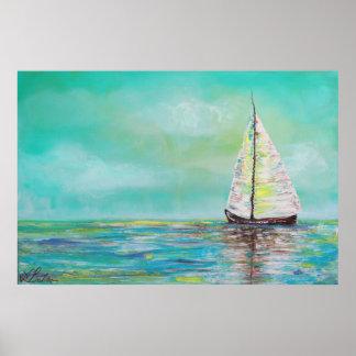Alone At Sea Poster