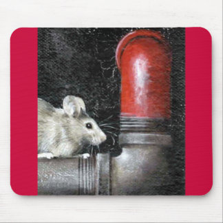 Alone in the Dark      Original Painting Mouse Pad