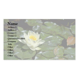 Alone Lily Business Card Templates