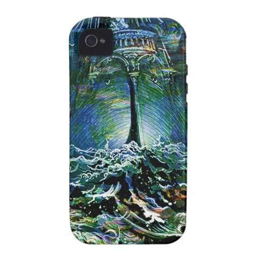 ALONE ON THE BRIDGE AT HIGH SEA.jpg Case-Mate iPhone 4 Cover