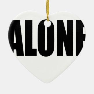 alone party night summer end invitation flirt roma ceramic ornament