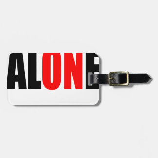 alone party night summer end invitation flirt roma luggage tag