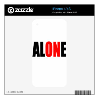 alone party night summer end invitation flirt roma skin for iPhone 4S