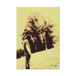 Alone Stretched Canvas Print