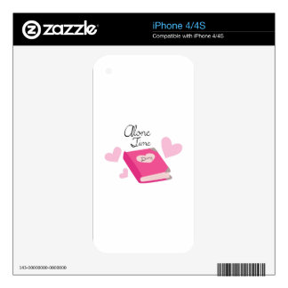 Alone Time Skins For iPhone 4S