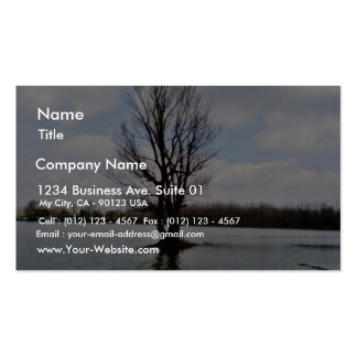 Alone Tree Before Storm Double-Sided Standard Business Cards (Pack Of 100)