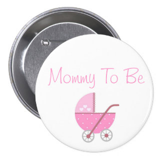 Along Came A Carriage Baby Shower Mommy to Be Pin