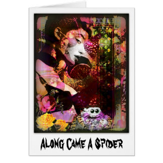 Along Came A Spider Card