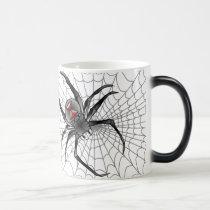 Along Came A Spider ... Magic Mug