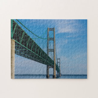 Along Mackinac Bridge Jigsaw Puzzle