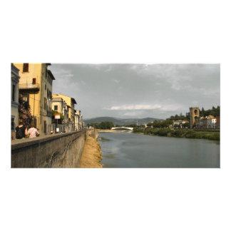 Along the Arno Photo Card Template