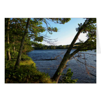 Along The Banks of Stillwater River Card