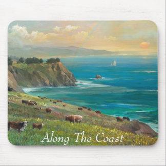 Along The Coast,  Alexander Chen Mouse Pad
