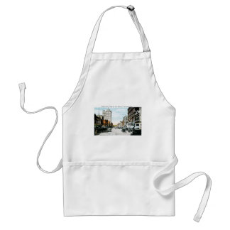 """Along the Dixie Highway"", Chattanooga, Tenn. Adult Apron"