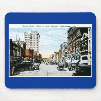 """""""Along the Dixie Highway"""", Chattanooga, Tenn. Mouse Pad"""