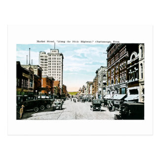 """Along the Dixie Highway"", Chattanooga, Tenn. Postcard"