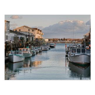 Along the Docks Postcard