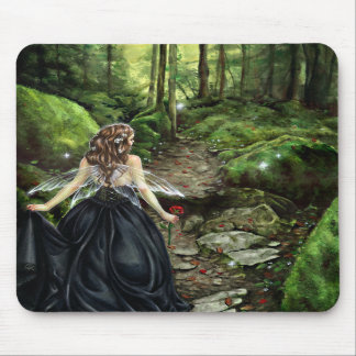 Along the Forest Path Mousepad