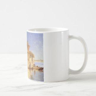 Along the Ghats, Mathura by Edwin Lord Weeks Coffee Mug