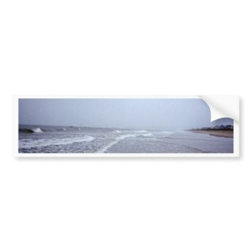 Beach Themed Along the North Carolina Seashore Bumper Sticker