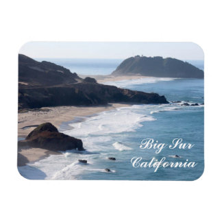 Along the Pacific Coast Highway in Big Sur Rectangular Photo Magnet