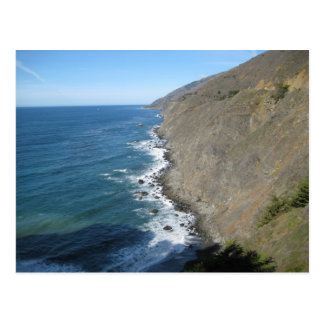 Along the Pacific Coast Highway Postcard