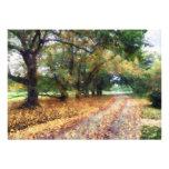 Along the Path Under the Trees Custom Invitation