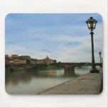 Along the River Arno Mouse Mats