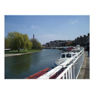 Along the River Cam Cambridge Photo print