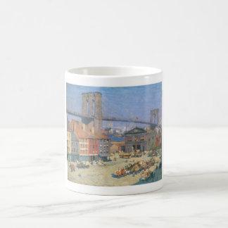 Along the River Front, New York circa 1912 Coffee Mug