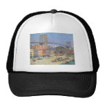 Along the River Front, New York circa 1912 Trucker Hat