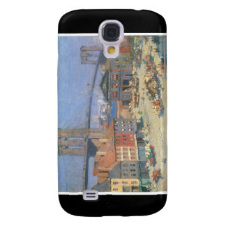 Along the River Front, New York circa 1912 Samsung Galaxy S4 Case