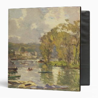 Along the Seine at Meudon, c.1893 (oil on canvas) Binder