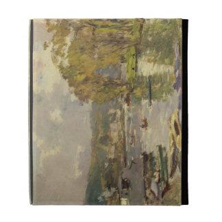 Along the Seine at Meudon, c.1893 (oil on canvas) iPad Folio Cover