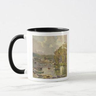 Along the Seine at Meudon, c.1893 (oil on canvas) Mug