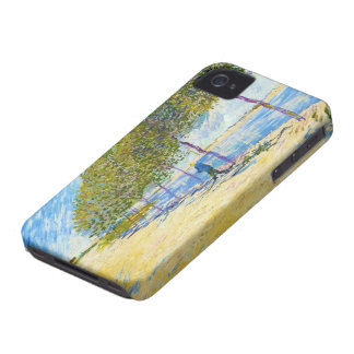 Along the Seine by Vincent Van Gogh iPhone 4 Case-Mate Case