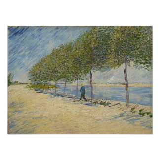 Along the Seine by Vincent Van Gogh Posters