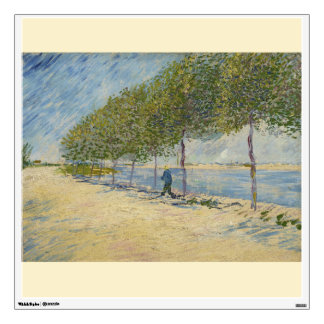 Along the Seine by Vincent Van Gogh Wall Decal