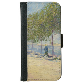 Along the Seine by Vincent Van Gogh Wallet Phone Case For iPhone 6/6s