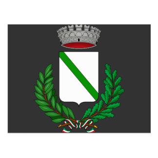 Alonte Stemma, Italia Tarjeta Postal