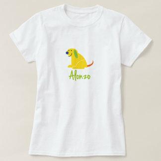 Alonzo Loves Puppies T-Shirt