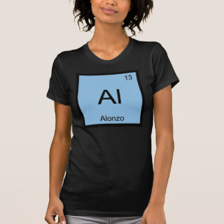 Alonzo Name Chemistry Element Periodic Table T-Shirt